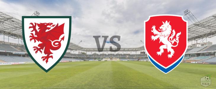 Сборные уэльса и Чехии по футболу