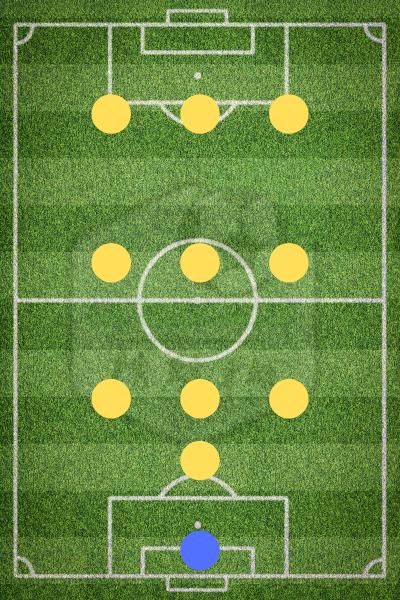 Футбольная схема ЭМ-Ю