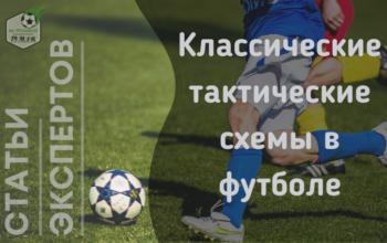 Классические схемы в футболе